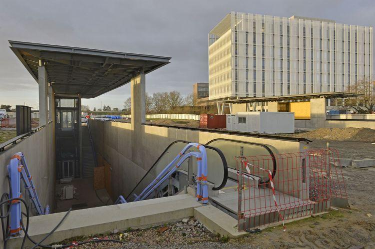 Station Saint-Jacques Gaîté - © Jean-Louis Aubert  - <small>10/12/2018</small>