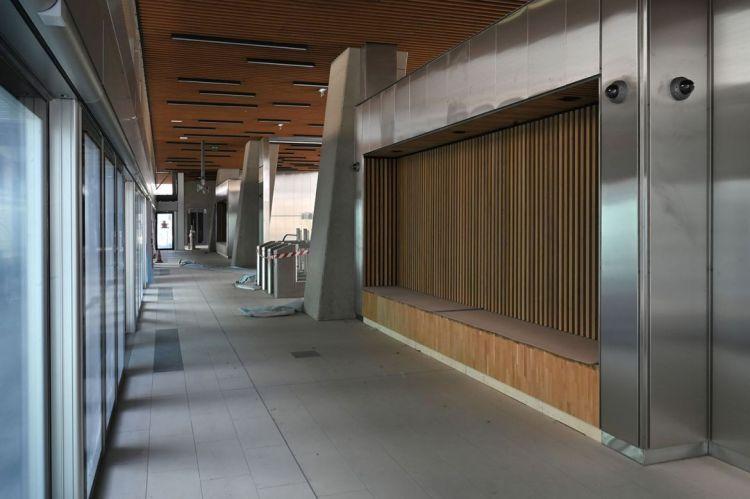 Station Atalante - Octobre 2020 - Poursuite du second oeuvre