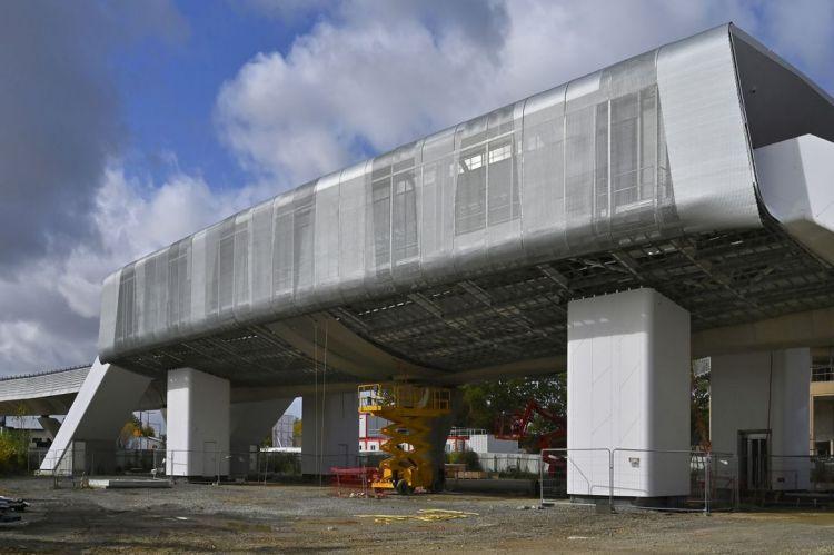 Station Cesson-Viasilva - Octobre 2020 - Poursuite du second oeuvre