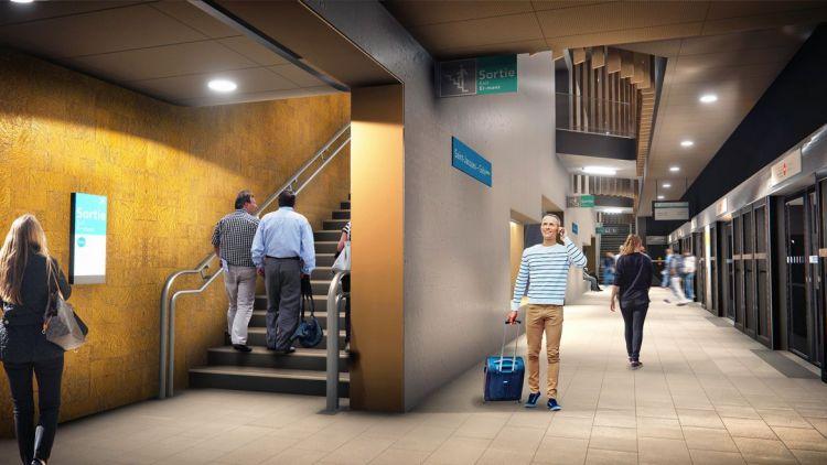 Station Saint-Jacques - Gaîté - © Artefacto