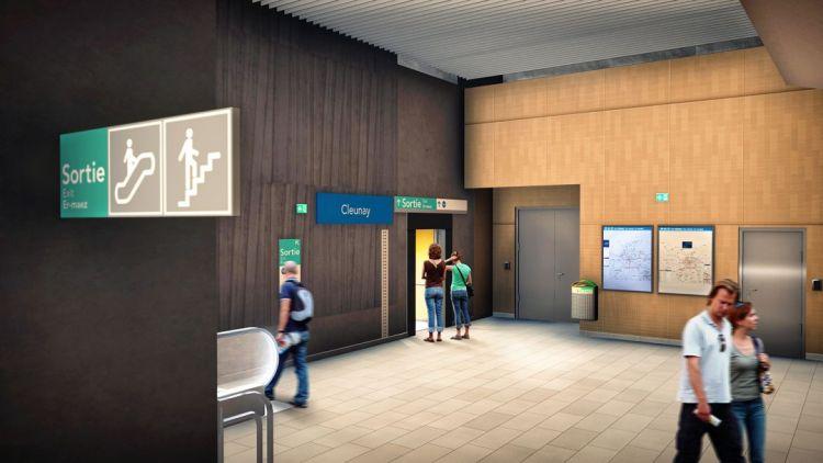 Station Cleunay - © Artefacto