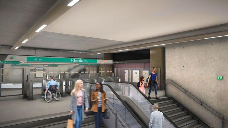Station Gros-Chêne - © Artefacto
