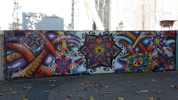 Station Sainte-Anne - Graffeur et peintre : Bapt2