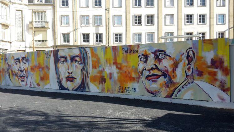 Station Saint-Germain - Graffeur et peintre : Glaz
