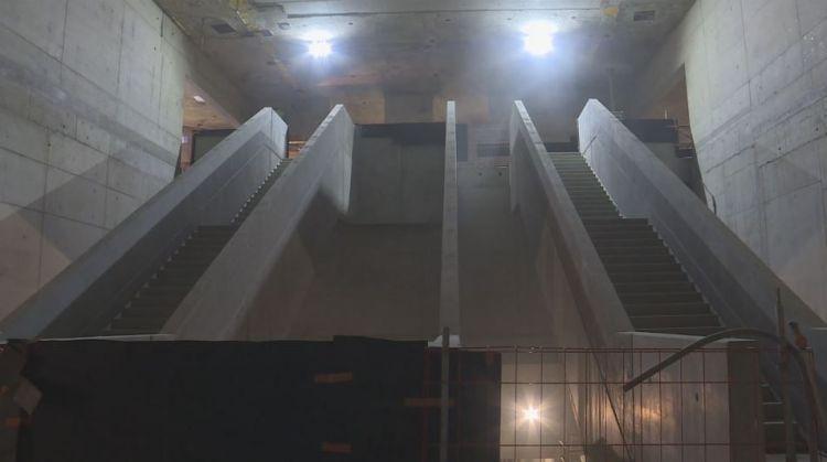 Station Saint-Germain - Mai 2017 - Fin du génie civil