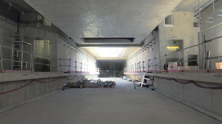 Station  Joliot-Curie - Chateaubriand - Juillet 2017 - Poursuite du second oeuvre