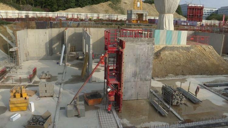 Station Cesson-Viasilva - Août 2017 - Début du génie civil