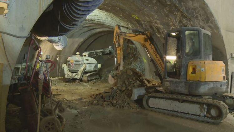 Puits Vincennes - Août 2017 - Excavation du rameau de liaison