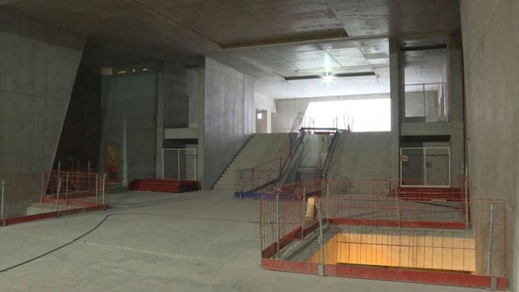 Station Gros-Chêne - Octobre 2018 - Fin du gros oeuvre