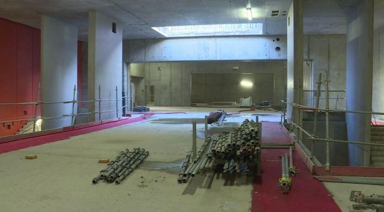 Station Les Gayeulles - Novembre 2018 - Maçonneries cloisons intérieures