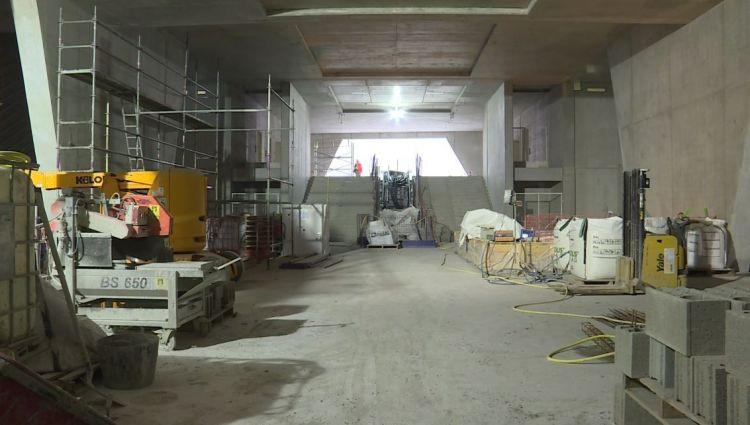 Station Gros-Chêne - Janvier 2019 - Poursuite du second oeuvre