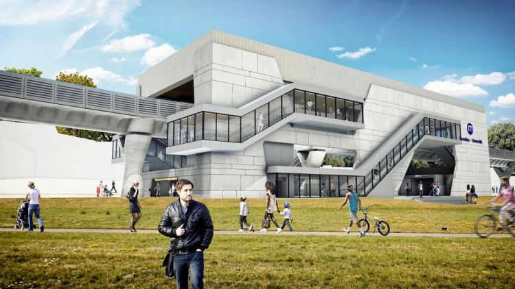Station Beaulieu-Université - Visite virtuelle 3D