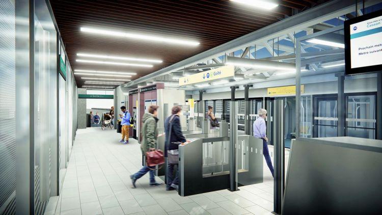 Station Cesson-Viasilva - Visite virtuelle 3D
