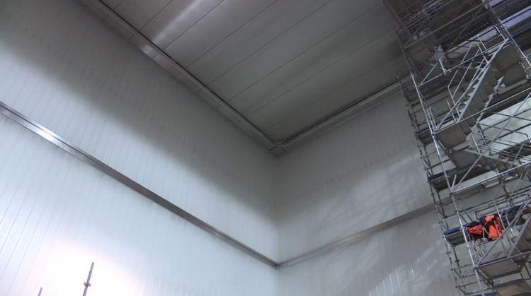 Station Gares - Mai 2019 - Pose des parements