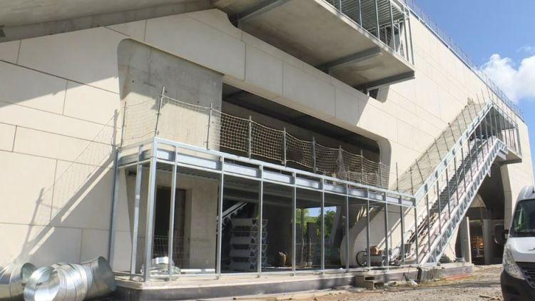 Station Beaulieu Université - Juin 2019 - Pousuite du second oeuvre