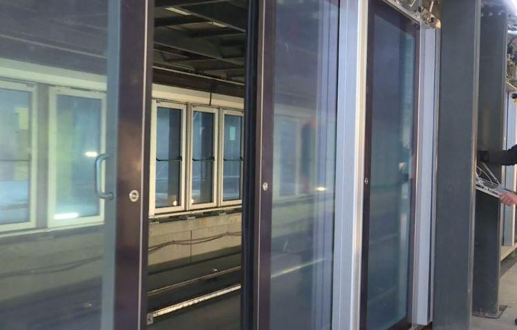 Station Gares - Novembre 2019 - Réglage des escaliers roulants et des portes palières