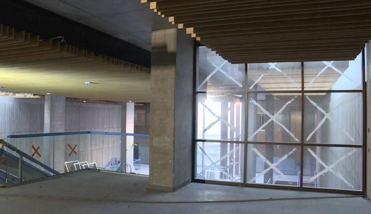 Station Cleunay - Décembre 2019 - Installation des conduites d'aérations