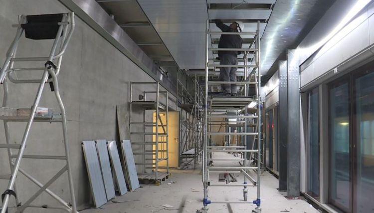 Station Gares - Février 2020 - Poursuite du second oeuvre