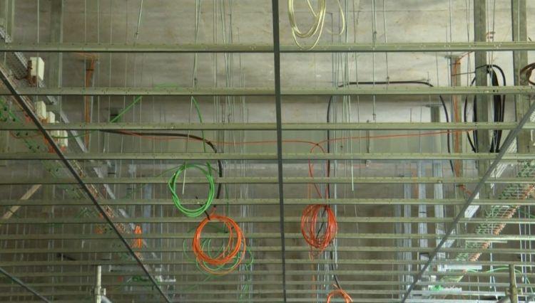 Station Les Gayeulles - Février 2020 - Pose des faux-plafonds