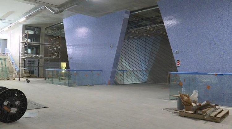 Station Gros-Chêne - Août 2020 - Aménagements extérieurs et poursuite du second oeuvre