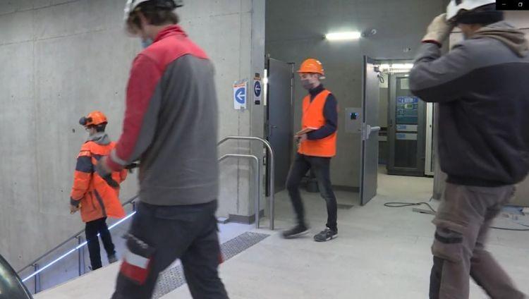 Station Gros-Chêne - Novembre 2020 - Poursuite du second Oeuvre