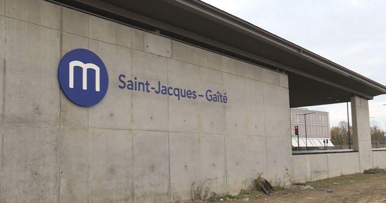 Station Saint-Jacques - Gaîté - Décembre 2020 - Finitions second oeuvre