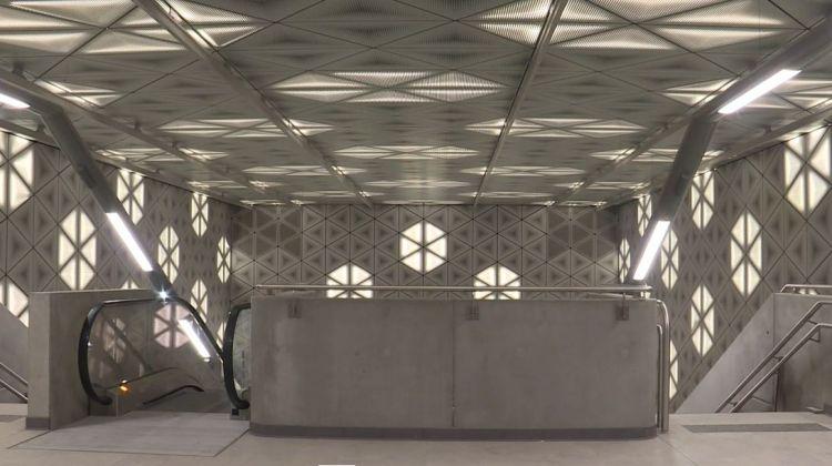 Station Saint-Germain - Janvier 2021 - Réglages des portiques
