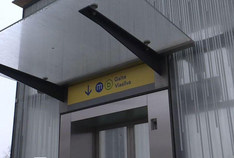 Station Cleunay - Janvier 2021 - Pose de la signalétique