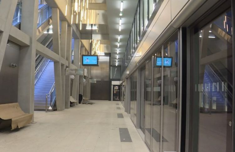 Station Jules Ferry - Février 2021 - Aménagements extérieurs et finition du second oeuvre