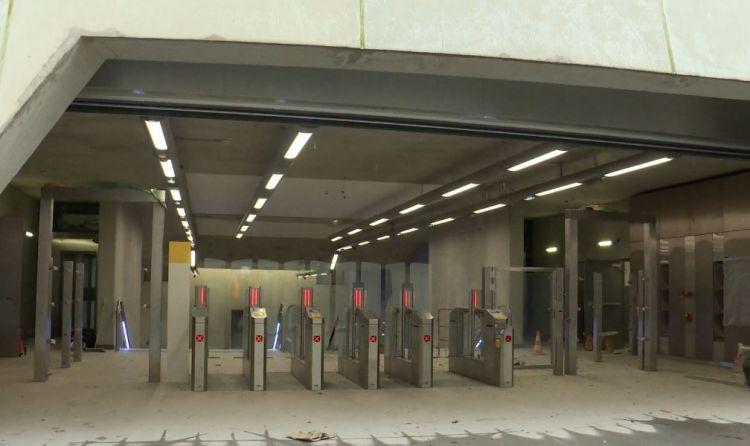 Station Gros-Chêne - Février 2021 - Aménagements extérieurs et finition du second oeuvre