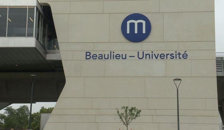 Station Beaulieu-Université - Juin 2021 - Nettoyage de la station