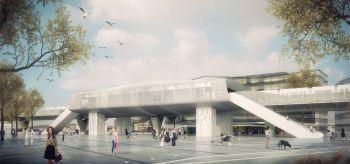 Station et parc-relais - © Anthracite / AMA