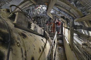 Le tunnelier - © Jean-Louis Aubert
